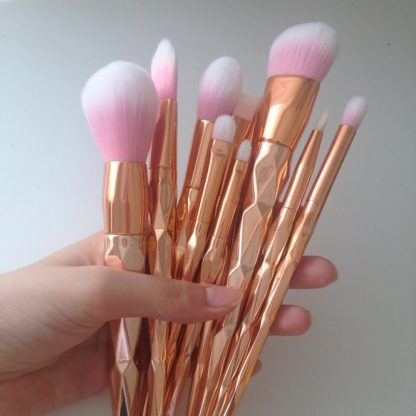 11Pcs-Diamond-Rose-Gold-Makeup-Brushes-Set-Mermaid-Fishtail-Shaped-Foundation-Powder-Cosmetics-Brush-Rainbow-Eyeshadow_13