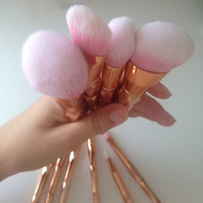 11Pcs-Diamond-Rose-Gold-Makeup-Brushes-Set-Mermaid-Fishtail-Shaped-Foundation-Powder-Cosmetics-Brush-Rainbow-Eyeshadow_14