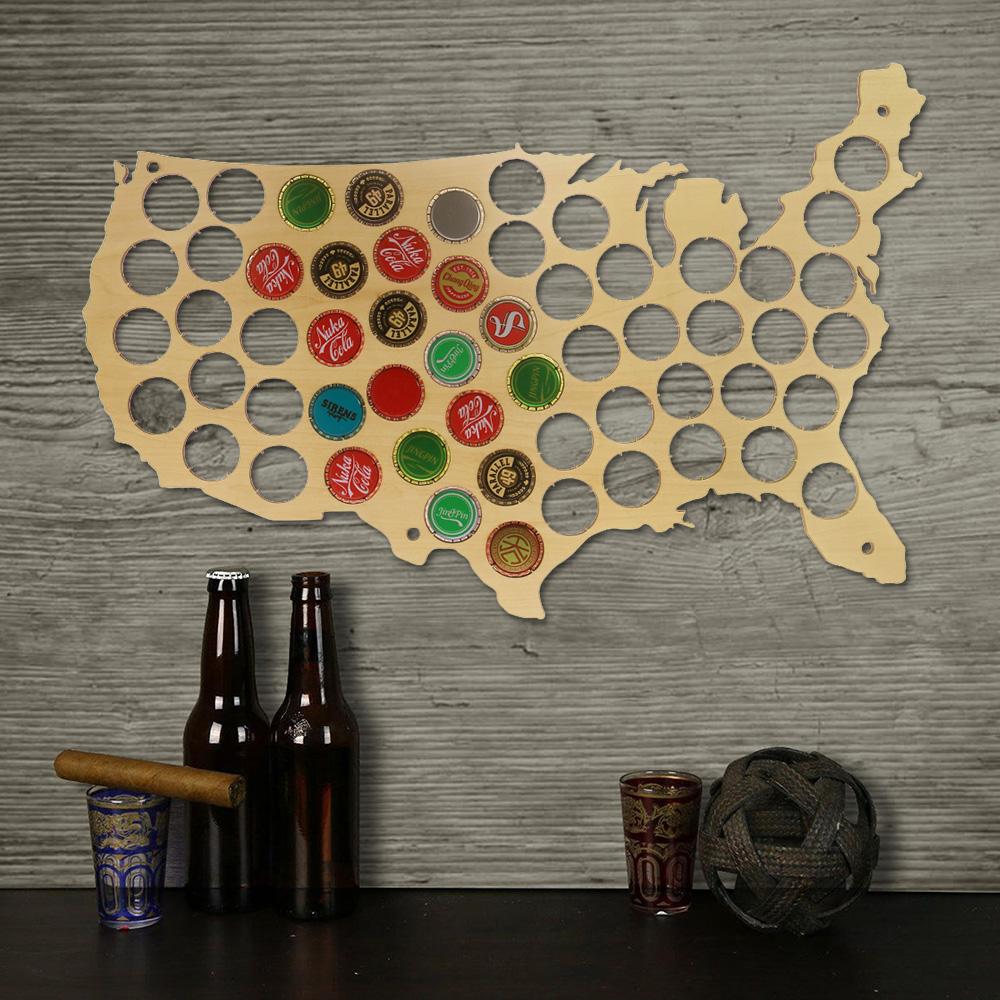 Usa Beer Bottle Cap Collector Pineapplemood Buy Gifts