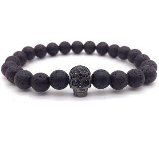 2018-Hot-Brand-Fashion-Charm-Bracelet-Micro-Pave-CZ-Skull-Head-Lava-Stone-Beads-Bracelet-For_23