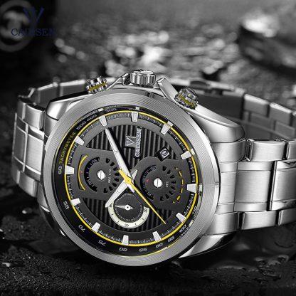 Cadisen-Men-s-Chronograph-Analogue-Quartz-Wristwatches-Stainless-Steel-Band-Classic-Business-Watch-for-Man-Luminous_19