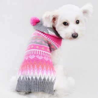 Dogbaby-Christmas-Pet-clothes-cap-ball-section-snowflakes-Sweater-Clothing-Cat-Puppy-Coat-dog-sweaters-for_18