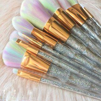 FOEONCO-7PCS-Diamond-Shape-Glitter-Powder-Handle-Unicorn-Makeup-Brushes-Set-Foundation-Eyeshadow-Blending-Makeup-Brush_7