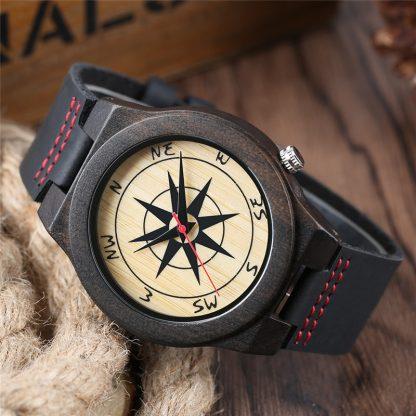 Fashion-Creative-Compass-Design-Dial-Nature-Ebony-Men-Quartz-Wristwatch-Black-Genuine-Leather-Band-Simple-Wood_37