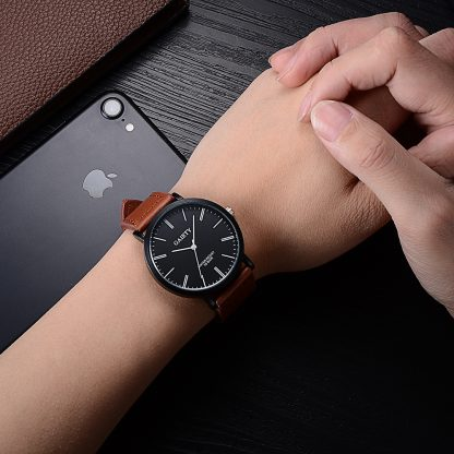 Gaiety-Brand-Drop-Shipping-Fashion-Black-Casual-Quartz-Men-Watches-Wristwatches-Luxury-New-Leather-Male-Man_29