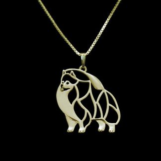 Gold-silver-1pcs-Pomeranian-Necklace-Cut-Out-Dainty-Pendant-Puppy-Dog-Lover-Memorial-Pet-Necklaces-Pendants_15