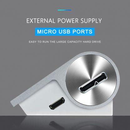Rocketek-USB-HUB-High-Speed-Aluminum-Usb-3-0-Hubs-3-Port-Power-Interface-with-TF