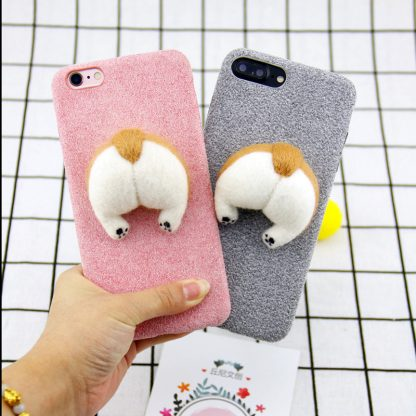 corgi-handmake-Needle-Wool-felt-cute-cat-dog-butt-ass-cover-for-apple-iphone-6-6s_27