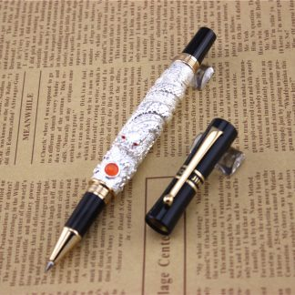 silver-JINHAO-ballpoint-Pen-School-Office-Stationery-high-quality-dragon-roller-ball-pens-luxury-business-gift_15