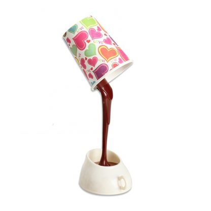 Table DIY Reading Lamp Eye Protection Desk Lamps Peculiar LED Nightlight Coffee Pour Light With USB Battery Reading Lightings 1