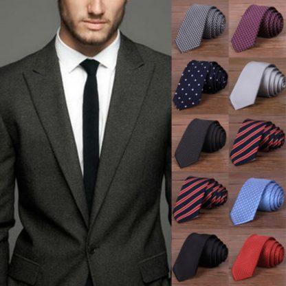 Hot New 2017 Fashion Male Brand Slim Designer Knitted Neck Ties Cravate Narrow Men Neckties Tie For Men Shirt Tie Skinny W1 1