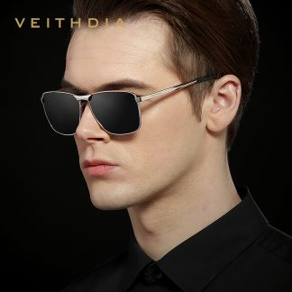VEITHDIA Brand Men's Vintage Sunglasses Polarized UV400 Lens Eyewear Accessories Male Sun Glasses For Men/Women V2462