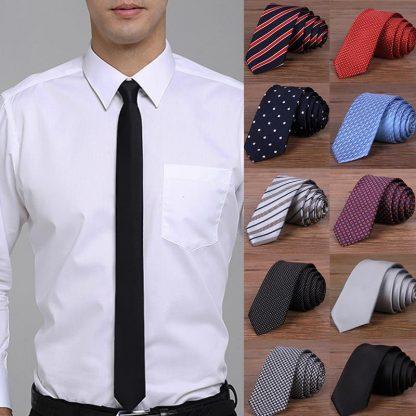 Hot New 2017 Fashion Male Brand Slim Designer Knitted Neck Ties Cravate Narrow Men Neckties Tie For Men Shirt Tie Skinny W1 2