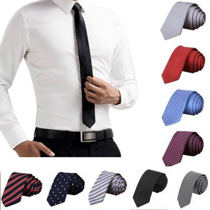 Hot New 2017 Fashion Male Brand Slim Designer Knitted Neck Ties Cravate Narrow Men Neckties Tie For Men Shirt Tie Skinny W1 4