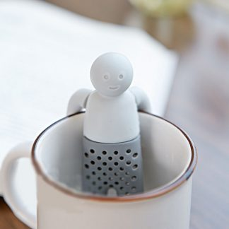 Unique Funny Life Partner Silicone Cute Tea Strainer Infuser Filter Teapot Teabags Tea Sets for Tea & Coffee Drinkware K0214