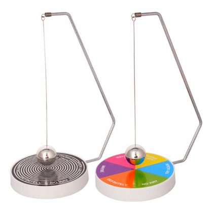 Decision Maker Ball Baby Kids Boys Creative Decision Maker Pendulum Dynamic Desk Toy Plastic + Metal Ball Toy Gift 1