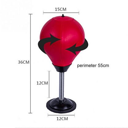 High Quality Practical Desktop Punch Punching Bag Speed Ball Stand Boxing Training Practice Punching Speed Ball 4