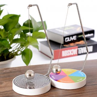 Decision Maker Ball Baby Kids Boys Creative Decision Maker Pendulum Dynamic Desk Toy Plastic + Metal Ball Toy Gift